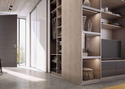 Előszoba beépített szekrény_1