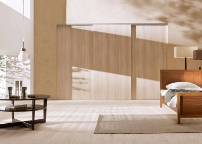 Beépített szekrény hálószobába juhar bútorlappal