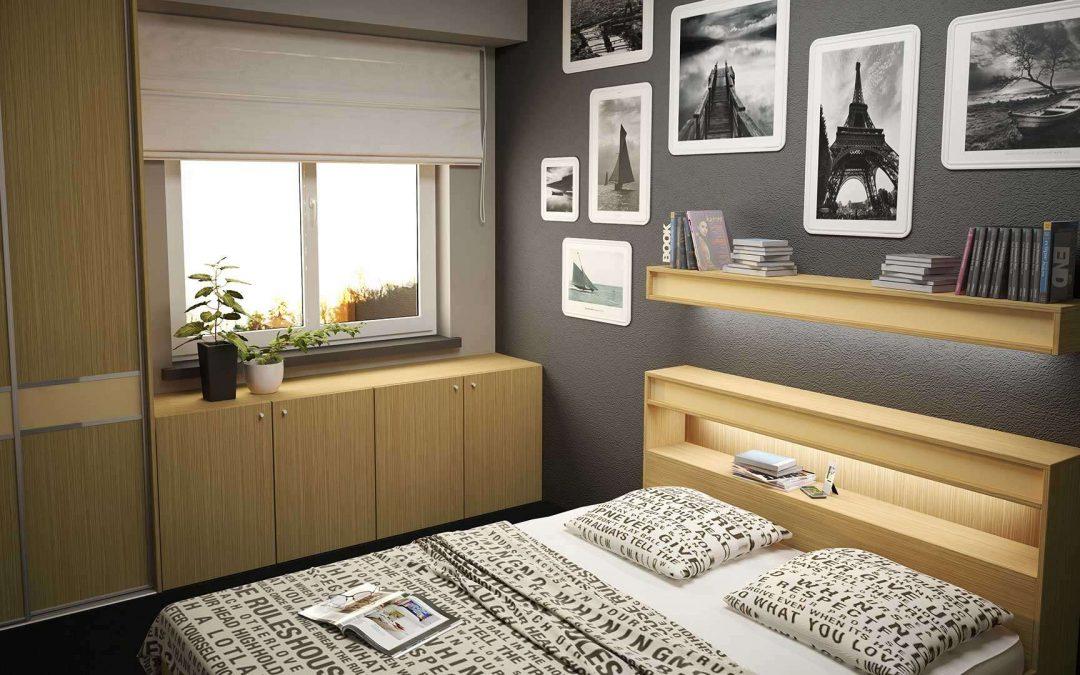 Természetes fa hatású bútorlapok a szekrényeknél