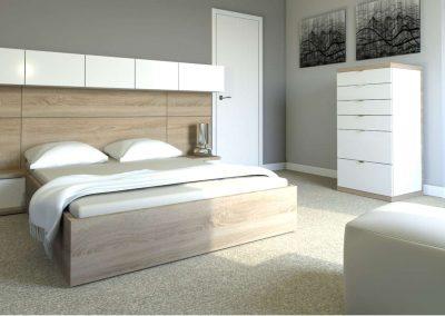 Beépített szekrény hálószobai kiegészítőként