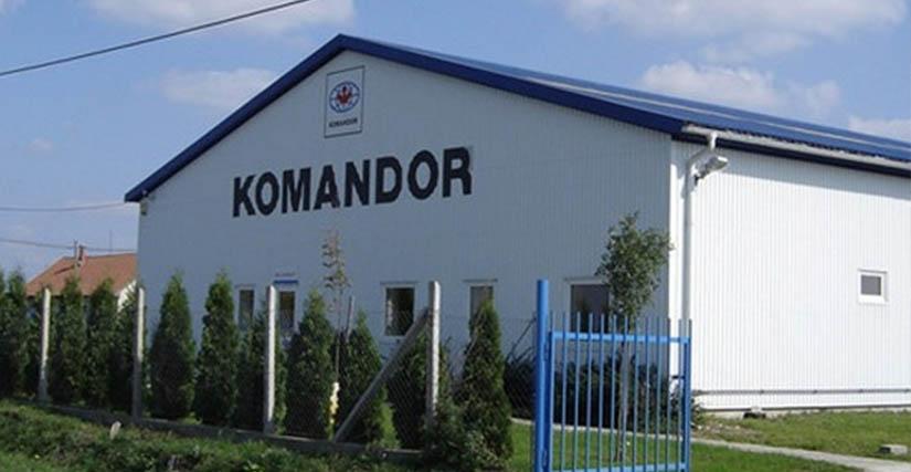 Komandor - Cegléd bemutató és mintaterem