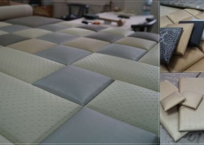 Textilbőr panel