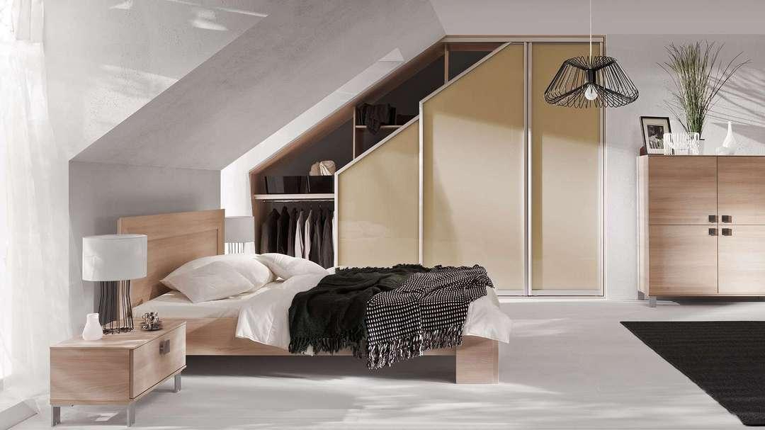 Tetőtéri beépített szekrény készítés