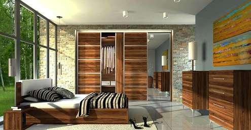 Hálószoba beépített szekrény, gardróbszekrény készítés