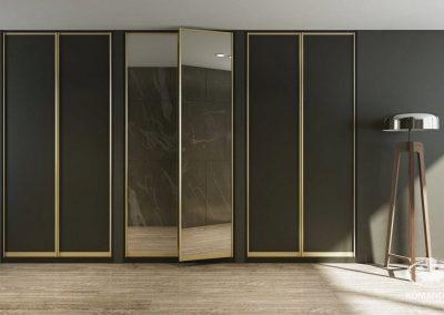 Modern előszoba szekrény folyosóra