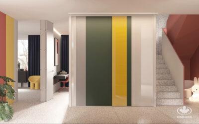 Hogyan lehet a szekrényt az enteriőr stílusához illeszteni? 2. rész: Minimalizmus és avantgárd