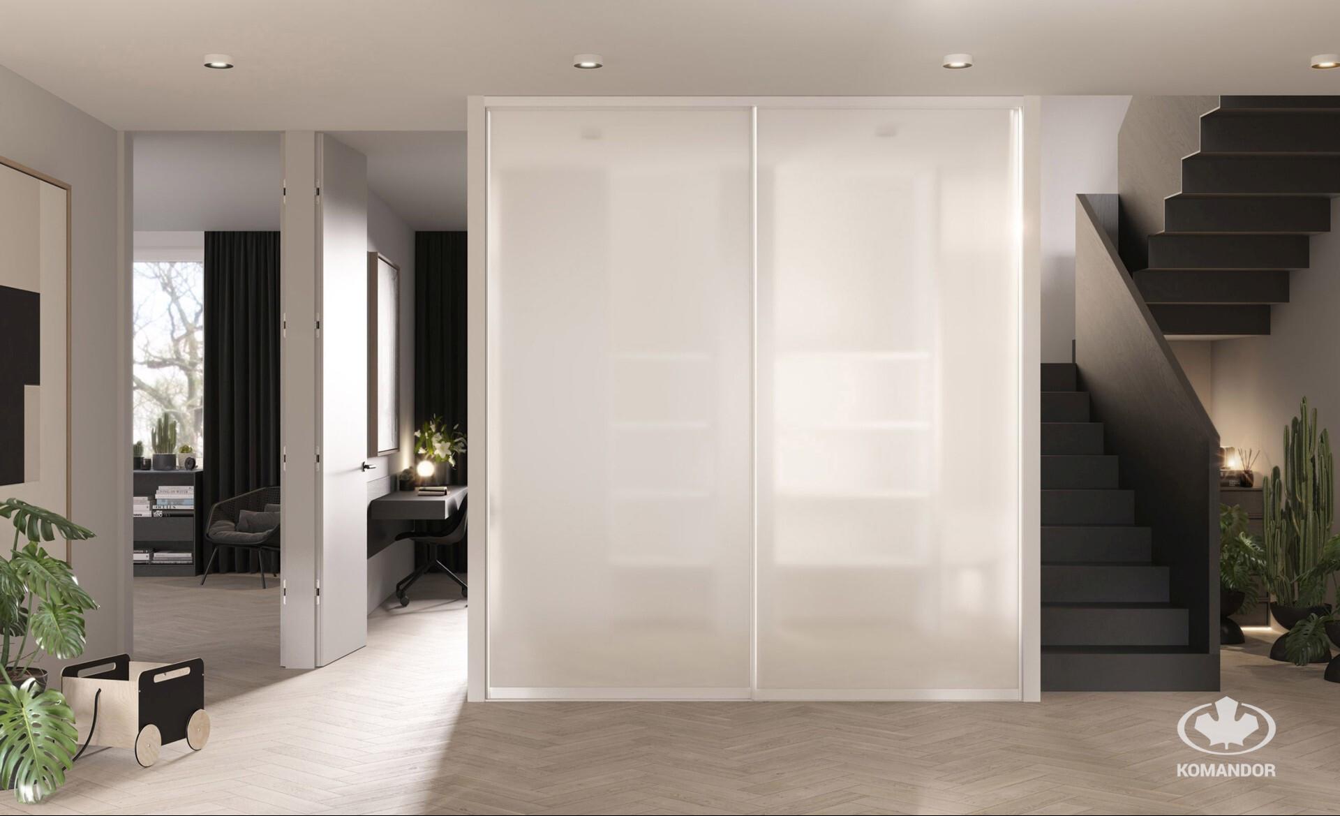 minimalista beépített szekrény