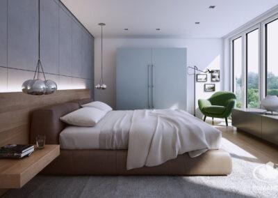 világ hálószoba bútor fehér beépített szekrénnyel