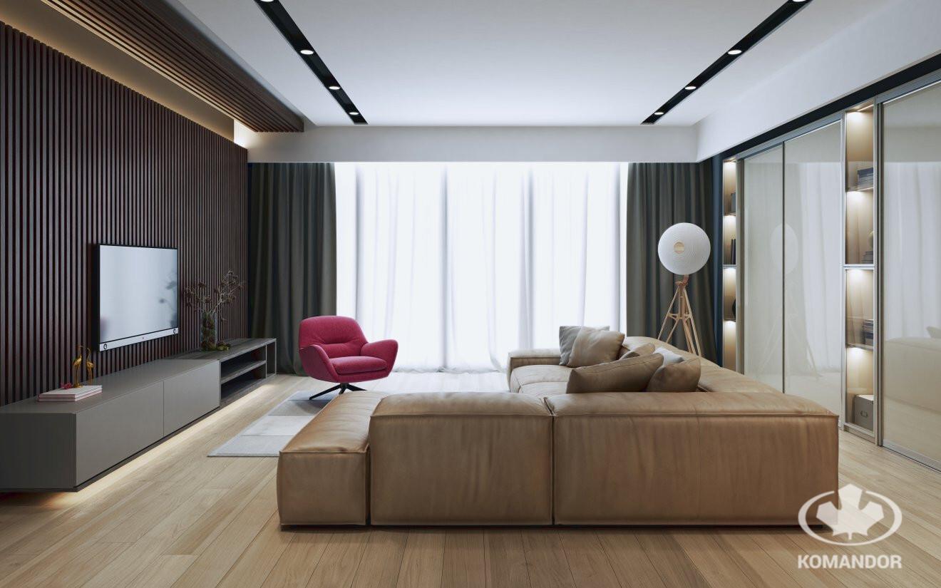 egyedi bútor nappaliba tökéletes harmónia