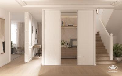 Hogyan lehet vizuálisan megnövelni egy szobát? 7 inspiráció kis belső terek számára.