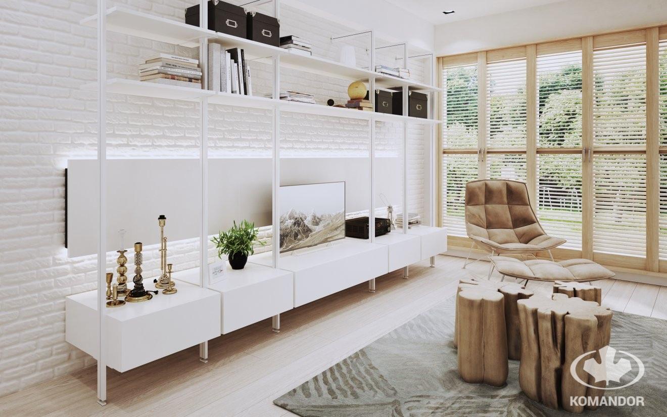 tv beolvasztása a nappali környezetébe